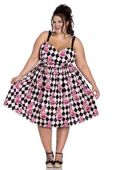 HARLEKIN 50'S DRESS + SIZE