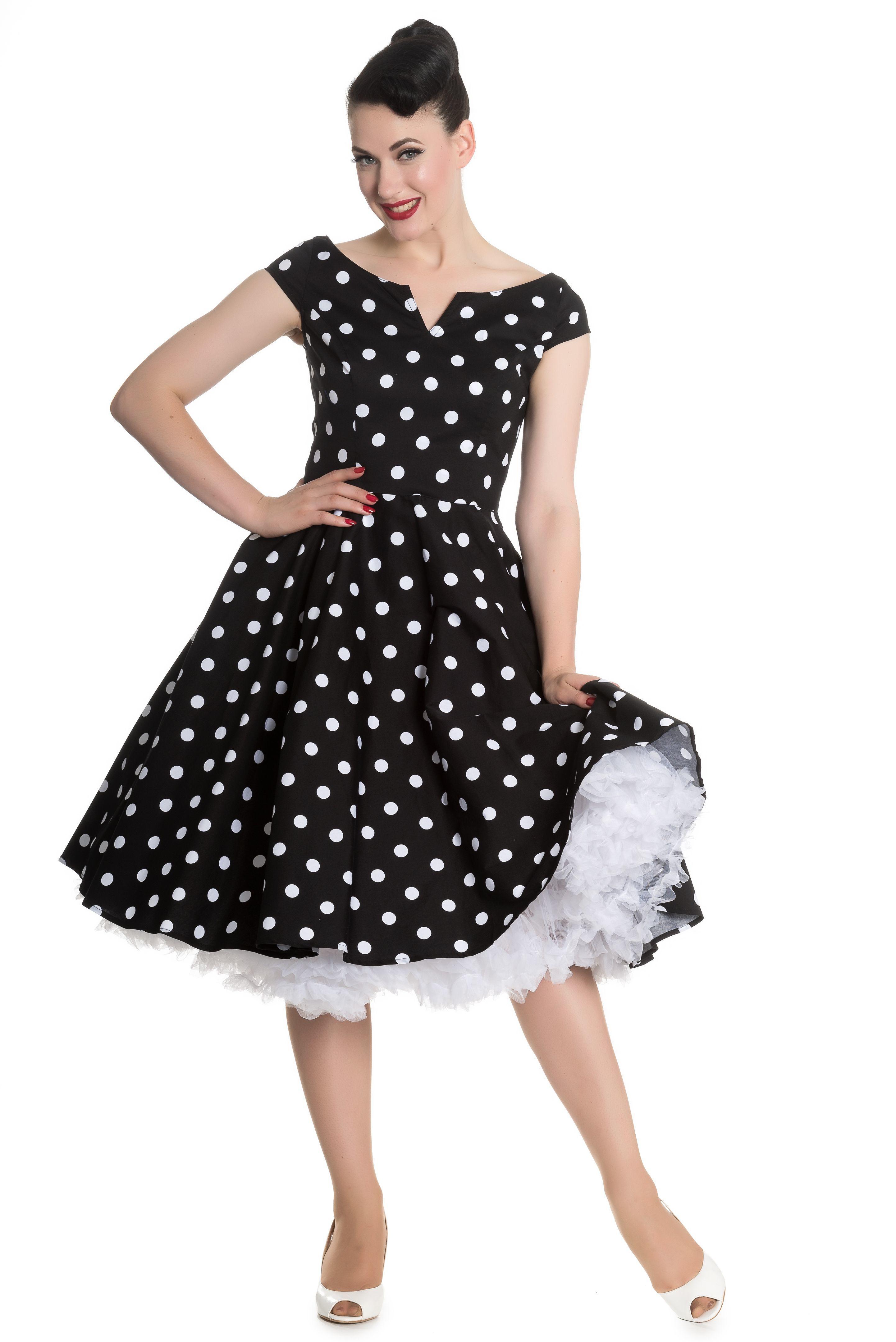 50 er stil kjole