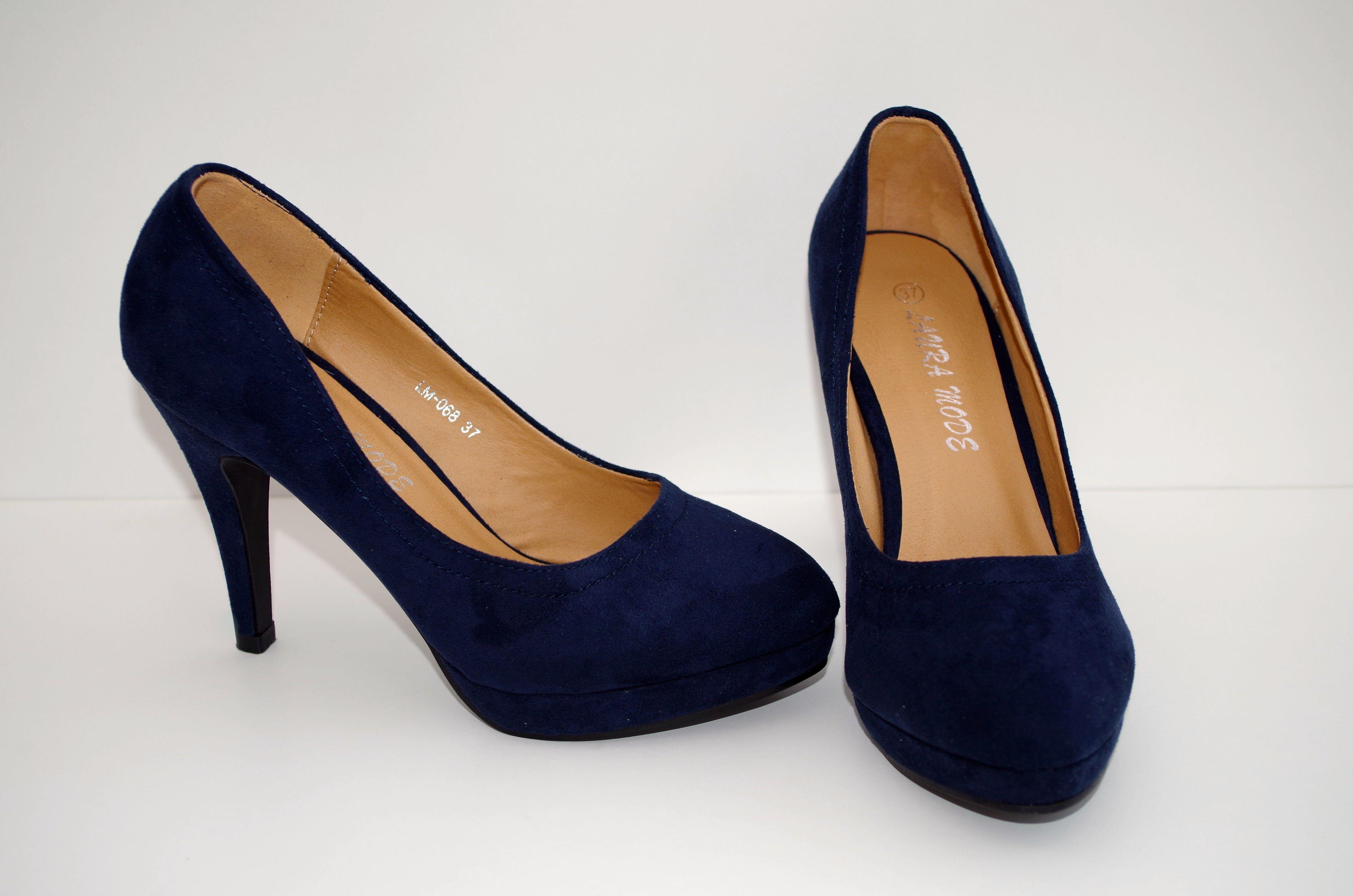db14c0dd8ade Køb Mørkeblå sko Vanessa - Price  150