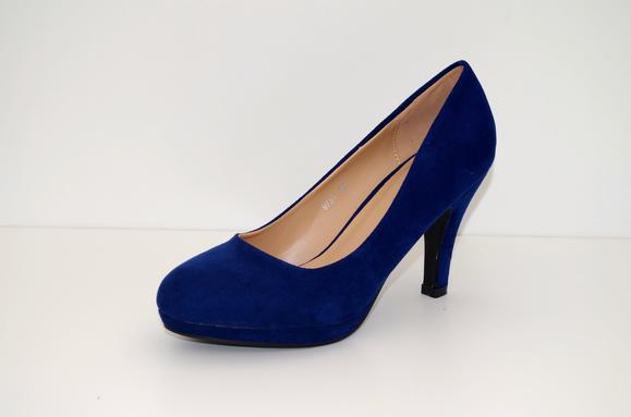 447f142c597e Køb Blå sko høje hæle - Price  150