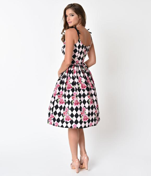 HARLEKIN 50'S DRESS