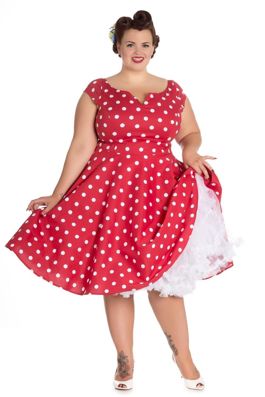 0423adbf7446 Fabelagtigt Køb ANNI 50ER KJOLE i rød farve ( Hell Bunny) - Price  499