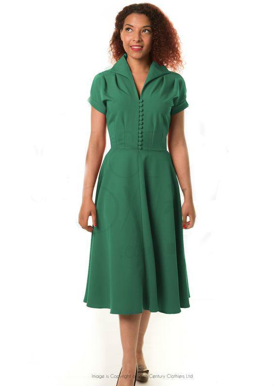neon grøn kjole