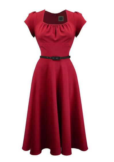 eebb04e710f4 Smuk danse kjole i rød