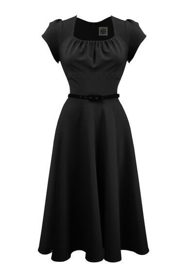 5015a24c874f Smuk danse kjole i sort